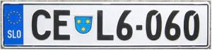 Словенские автономера